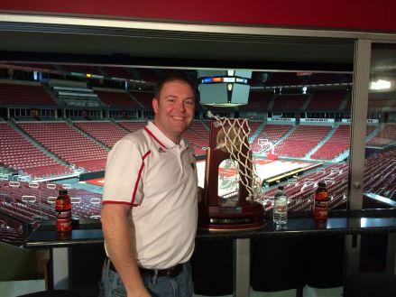 Jay with Regional trophy